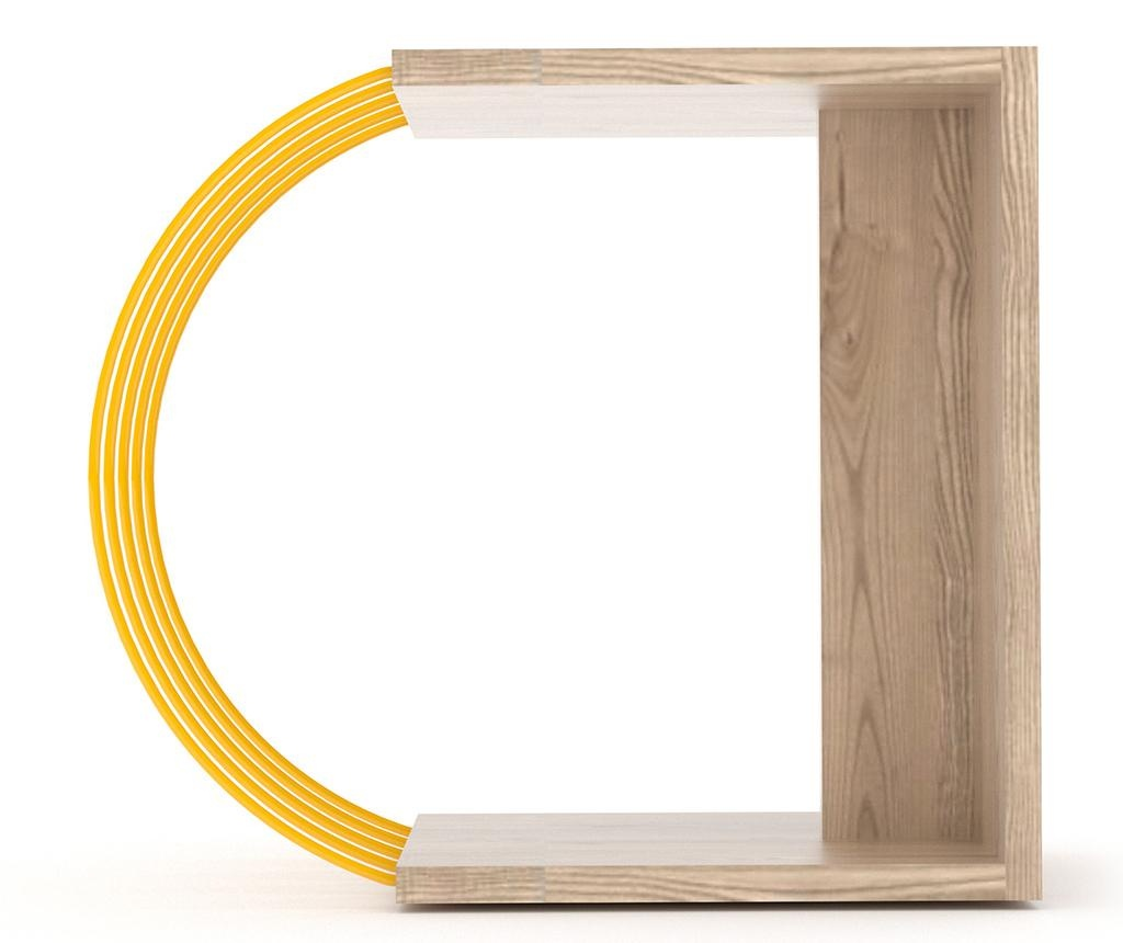 Stolić Case Oak Yellow