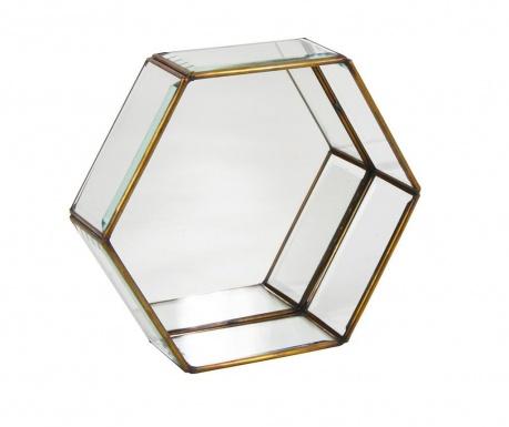 Bisel Hexagonal Fali polc M