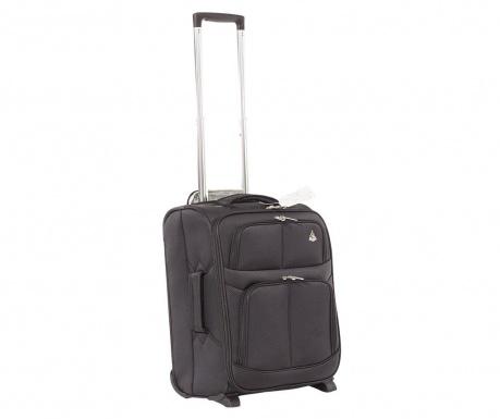 Cestovní kufr na kolečkách Edinburgh Black 60 L