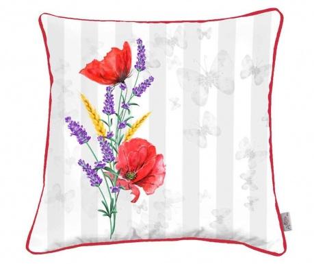 Obliečka na vankúš Poppy and Lavender 43x43