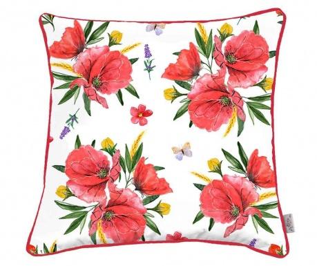 Obliečka na vankúš Poppy Lover 43x43