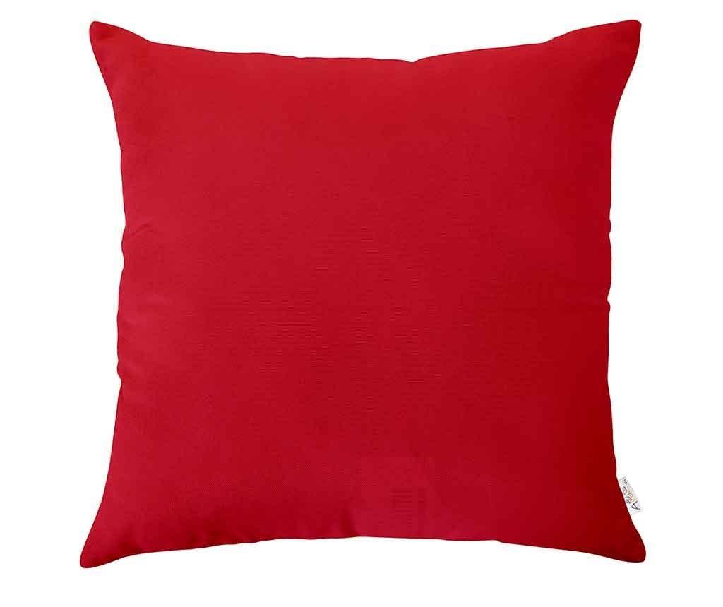 Poppy Classic Red Párnahuzat 43x43