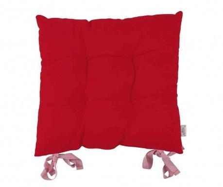 Vankúš na sedenie Poppy Classic Red 43x43 cm