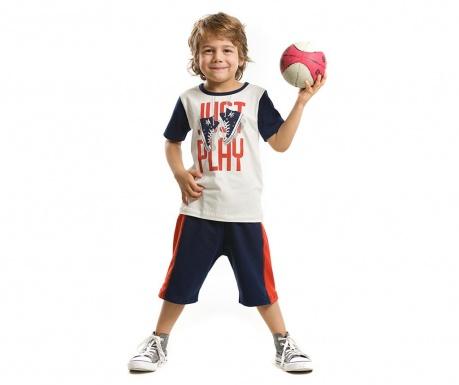 Otroški komplet - majica s kratkimi rokavi in hlače Just Play 2 let