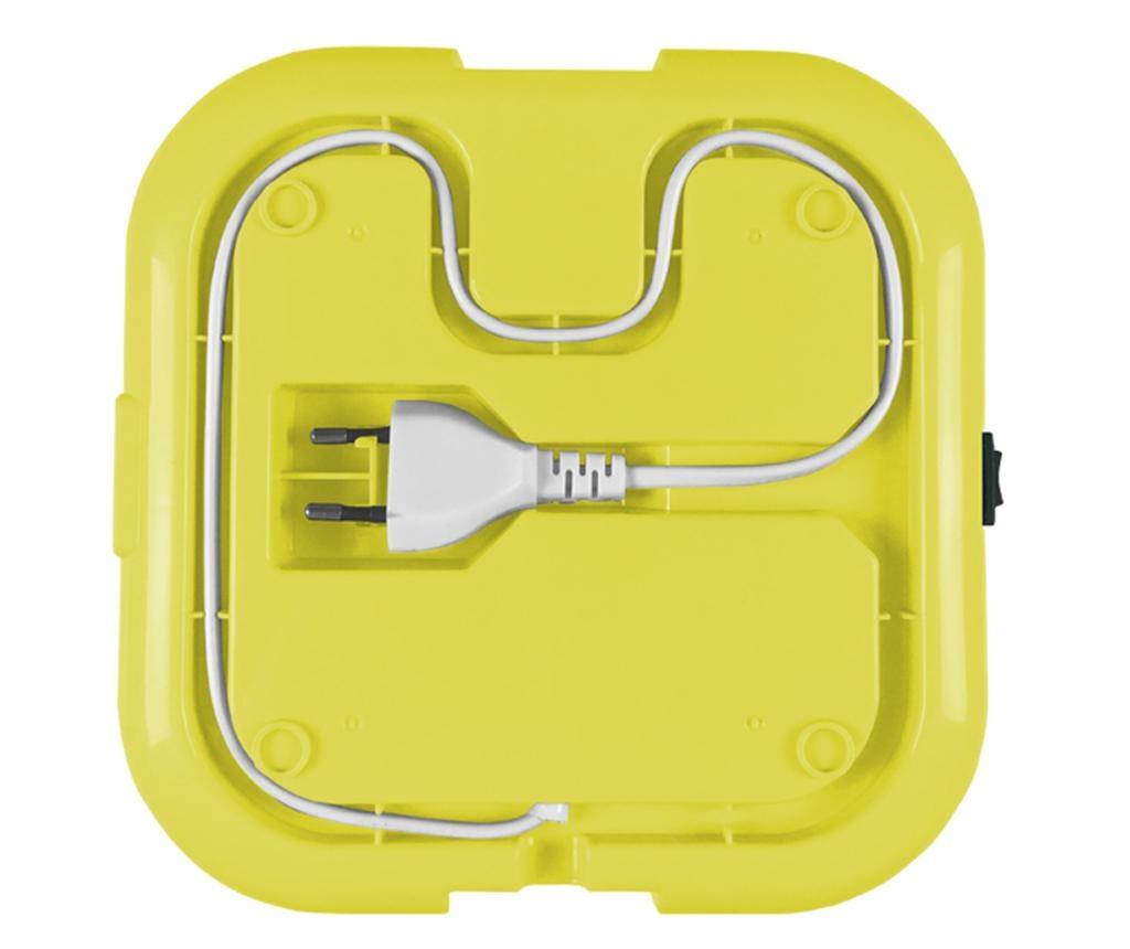 Cutie electrica pentru pranz Foody Yellow 1.6 L