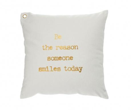 Dekoračný vankúš Reason To Smile 45x45 cm