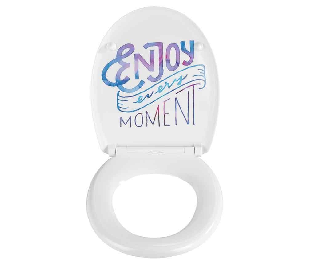 Deska za WC školjko Enjoy Every Moment