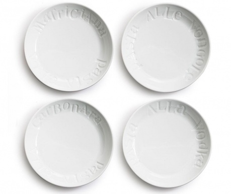 Set 4 tanjura za tjesteninu Savour