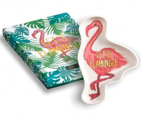Ukrasni pladanj Let's Flamingle