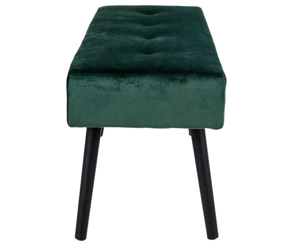 Klupica Skiby Velvet Dark Green