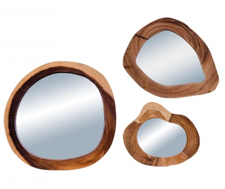 Sada 3 zrkadiel Madrid