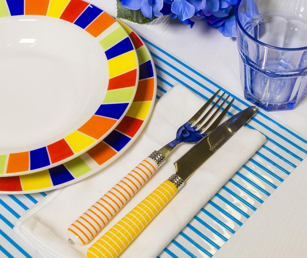Set tacamuri 24 piese Multicolor Stripes