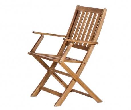 Exteriérová skladacia stolička Mali Arms