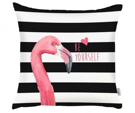 Fata de perna Be Yourself Flamingo 43x43 cm
