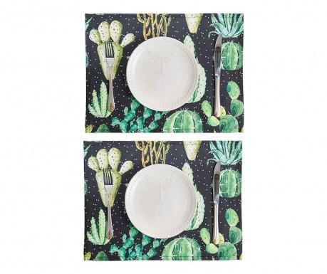 Set 2 individualuri Night Cactus 33x45 cm