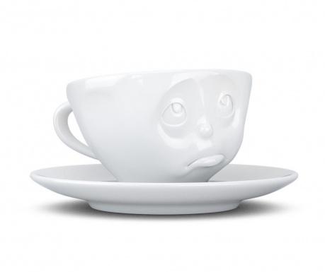 Sada šálka s tanierikom Oh Please Coffee