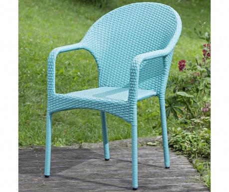 Exteriérová stolička Brevin Turquoise