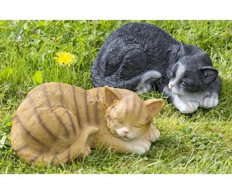 Sada 2 záhradných dekorácií Phil Cats