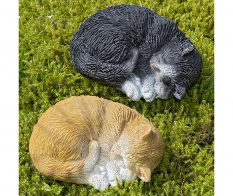 Sada 2 záhradných dekorácií Cats