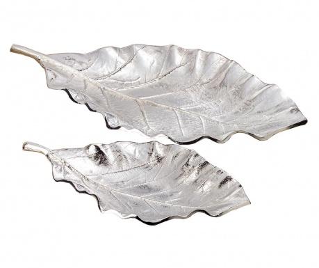 Set 2 platouri decorative Leaf Galen