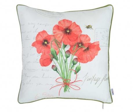 Obliečka na vankúš Poppy Bouquet 43x43 cm