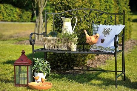Idylická záhrada