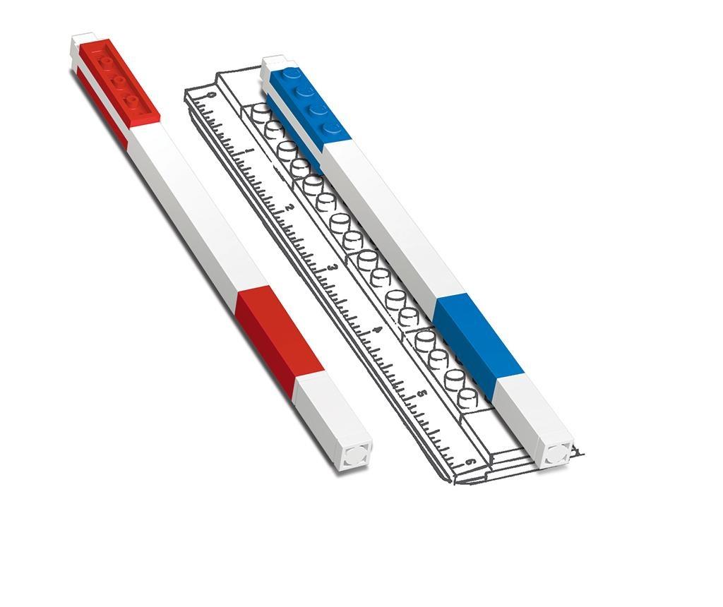 Set 9 kemijskih olovki s gelom Lego Color