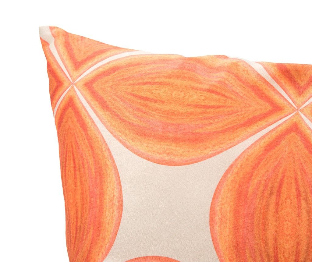 Fata de perna Piksi Orange 40x40 cm