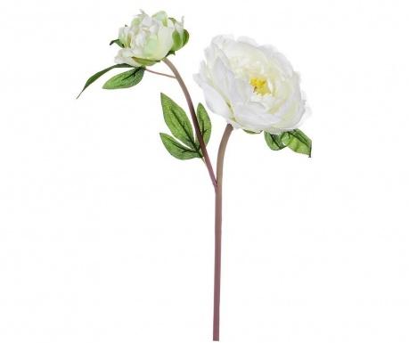 Umelá kvetina Peony White