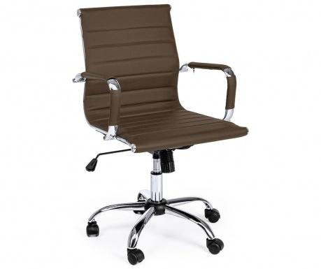 Kancelárska stolička Praga Brown