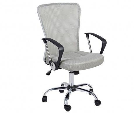 Kancelárska stolička Brisbane Light Grey