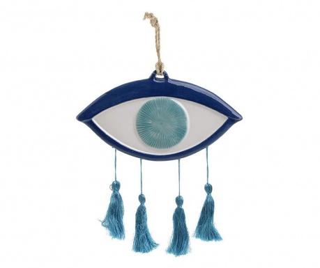 Eye with Three Tassels Blue Felfüggeszthető dekoráció