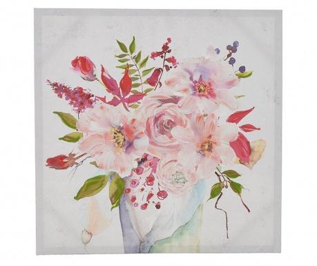 Slika Flower Vase 70x70 cm