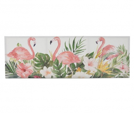 Flamingo Kép 50x150 cm