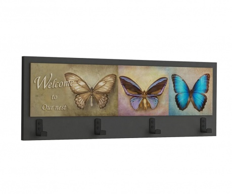 Κρεμάστρα Butterflies