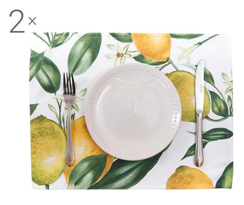 Set 2 individualuri Lemons 33x45 cm