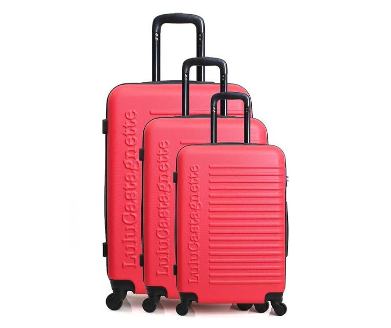 Set 3 trolere Lulu Classic Bright Pink