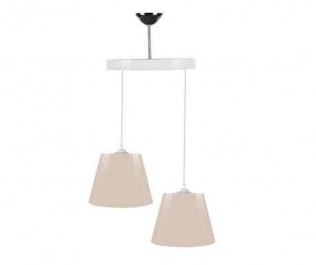 Lampa sufitowa Alma Glossy Beige White