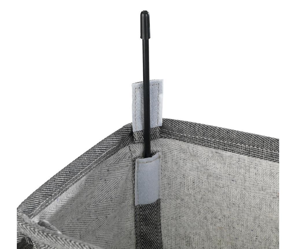 Košara za rublje s poklopcem Corno 43 L