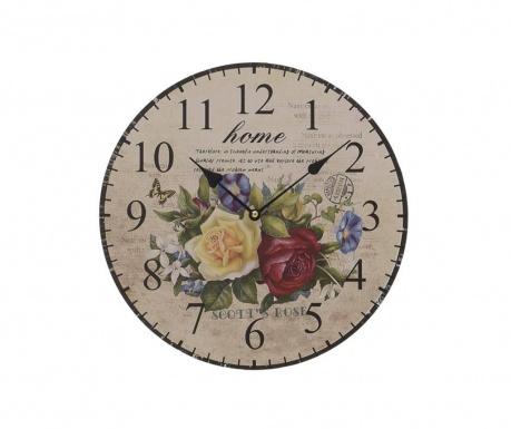 Zidni sat Flowers