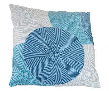 Διακοσμητικό μαξιλάρι Spin Blue 45x45 cm