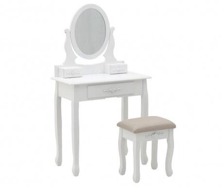 Set toaletni stolić i stolčić Lili