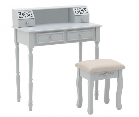 Set toaletni stolić i stolčić Sofa