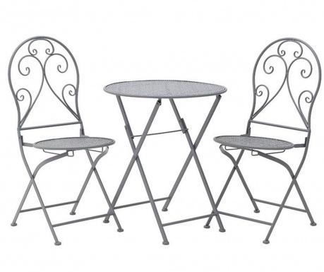 Set sklopivi stol i 2 sklopive stolice za vanjski prostor Matya