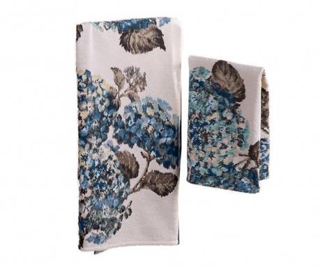 Sada 2 uterákov Ortensia Blue
