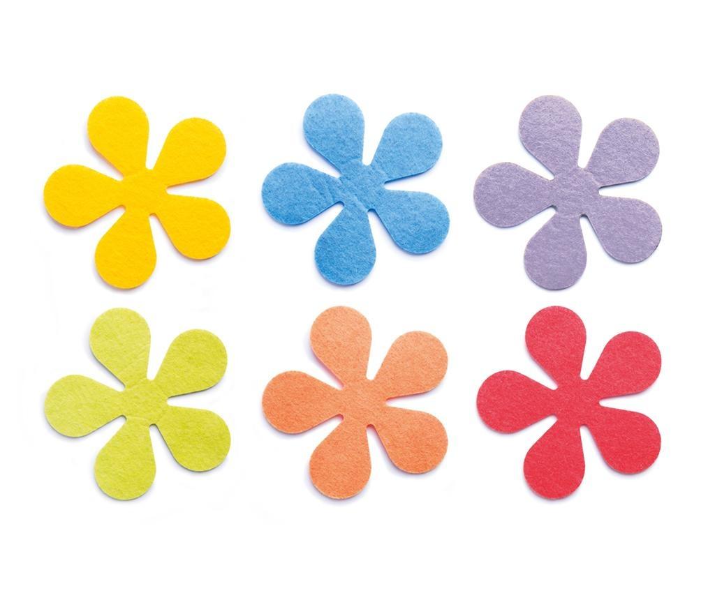 Set 6 podstavkov Flower
