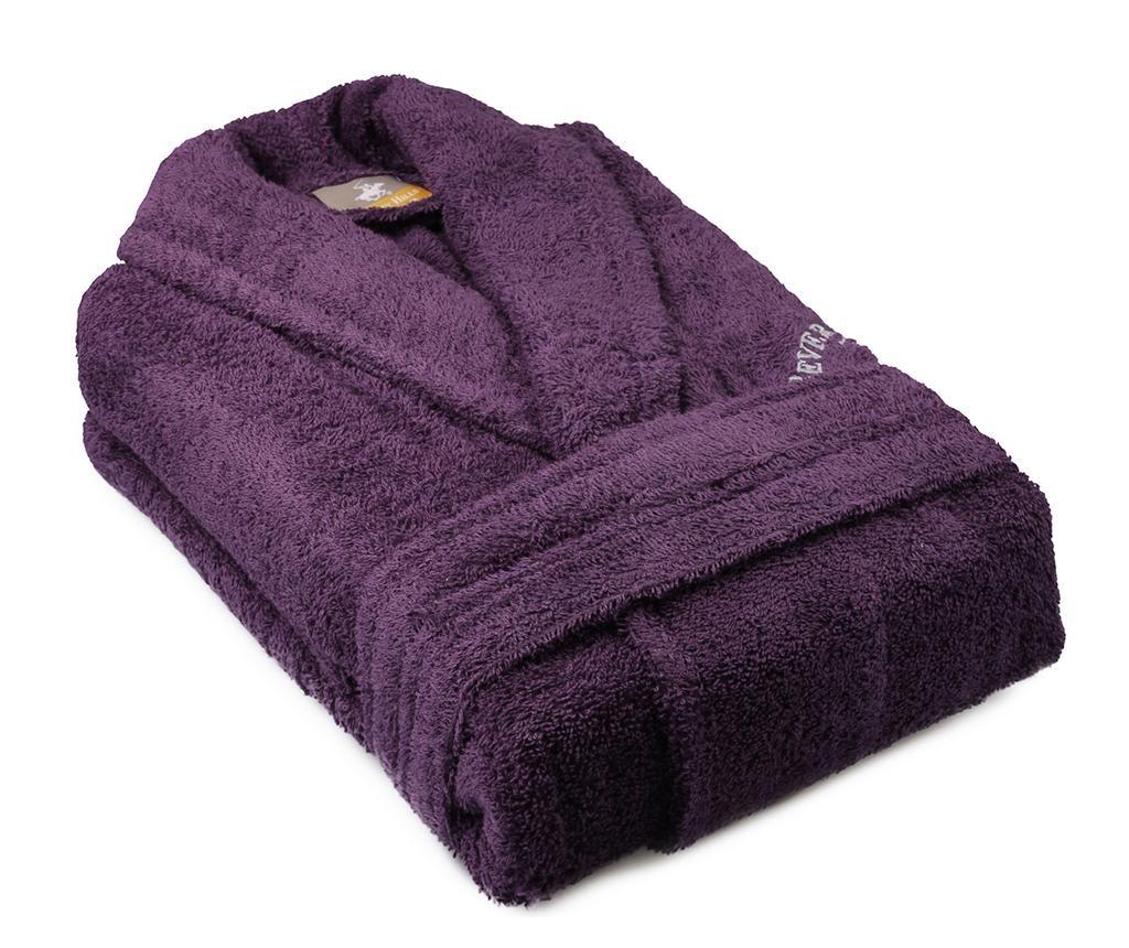 Austen Purple Unisex fürdőköpeny M/L