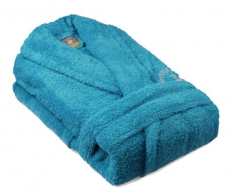 Austen Turquoise Unisex fürdőköpeny