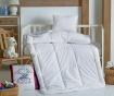 Set jastuk i poplun za krevetić Baby White