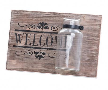 Welcome Fali dekoráció